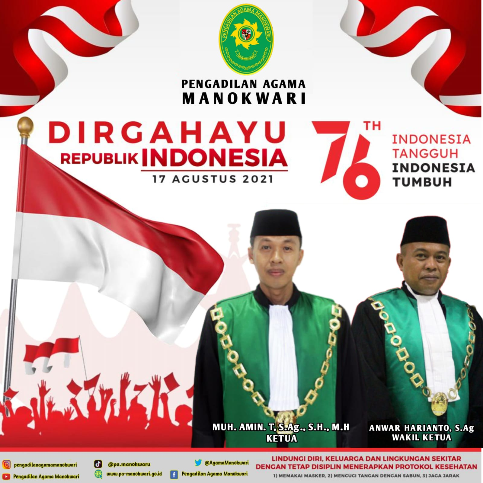 SELAMAT HARI ULANG TAHUN REPUBLIK INDONESIA KE- 76